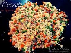 Creveti cu legume si orez la wok - Rețetă Petitchef
