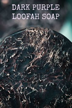 Dark purple #loofah #soap #Lilac - http://spartasoaps.com/