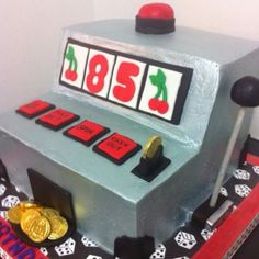 Slot machine foto's cake