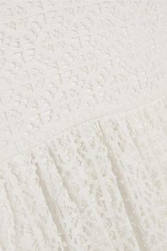 Temperley London | Prairie guipure lace maxi dress | NET-A-PORTER.COM