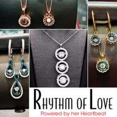 Have you experienced the Rhythm of Love? Come visit us to see what makes this line so special!