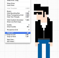 How To Create an 8-Bit Pixel Character in Illustrator