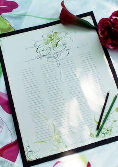 A muchos novios les gusta colocar un Libro de Firmas para dejar plasmados los buenos deseos de los invitados