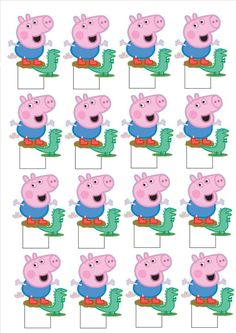Peppa Pig is really a English preschool super-hero television set series directed plus generated by Cumple George Pig, Peppa Pig Party Supplies, George Pig Party, Cumple Peppa Pig, Pig Cupcakes, Dinosaur Printables, Peppa Pig Printables, Pig Birthday Cakes, Television Set