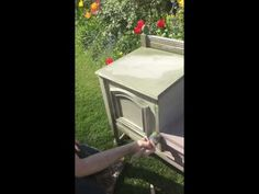 Colourwashing using Annie Sloan Chalk Paint - YouTube