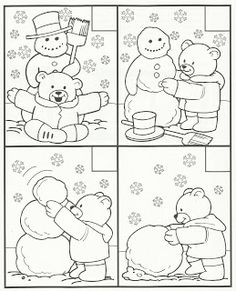 Crafts,Actvities and Worksheets for Preschool,Toddler and Kindergarten.Lots of worksheets and coloring pages. Snow Theme, Winter Theme, Winter Crafts For Kids, Preschool Winter, Kids Crafts, Winter Art, Winter Activities, In Kindergarten, Preschool Activities