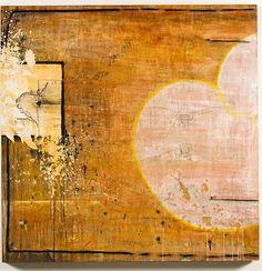 """Motion and Cessation""- By Marissa Kathleen Quinn    Oil and mixed media on wood  4'x4'  marissakathleenquinn.com"
