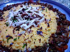 Cous cous con pollo y verduras al curry - Cuscús con pollo y verduras al curry - Cous Cous con pollo e verdure al curry - Vegetable chicken couscous recipe