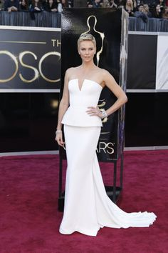 Charlize Theron  Dress: Christian Dior Couture