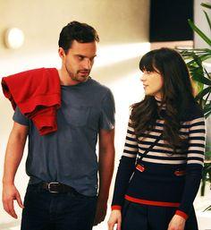 I love Nick & Jess. New Girl needs to hurry back.