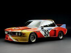 1975 BMW 3.0 CSL Art Car by Alexander Calder (E9)