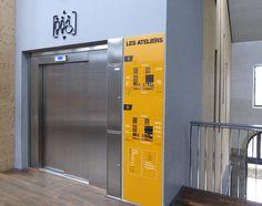 Ateliers des Capucins - Brest (29) Brest, Lockers, Locker Storage, Cabinet, Furniture, Home Decor, Elevator, Clothes Stand, Decoration Home