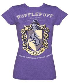 Harry Potter Hufflepuff Quidditch Team Ladies T-shirt