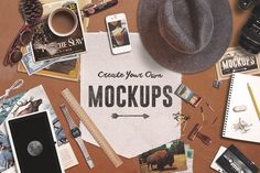 Check out Create Your Own Mockups by Design Surplus on Creative Market