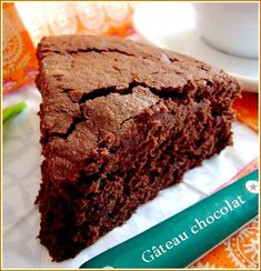 Gâteau fondant très chocolat
