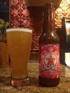 The Love by Starr Hill Brewery; Crozet, VA.