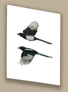 Increasing Magpies, Hazel Mountford