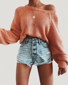 Cute outfit idea to copy ♥ For more inspiration join our group Amazing Things ♥ You might also like these related products: - Jeans ->. Trendy Summer Outfits, Cute Comfy Outfits, Simple Outfits, Pretty Outfits, Stylish Outfits, Fall Outfits, Amazing Outfits, Summer Fashion Trends, Teen Fashion Outfits