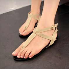 2014 new summer women's shoes flats sandals female Rome wind size 35-39 mixed PU leather fashion chaussures 4 black color $89.70
