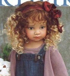 Chloe - OOAK finish vinyl doll by Angela Sutter