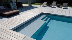 Untersuche die Betonbecken - My WordPress Website Inground Pool Designs, Swimming Pool Designs, Concrete Patios, Small Backyard Design, Small Backyard Pools, Swimming Pools Backyard, Pool Landscaping, Living Pool, Dubai Houses
