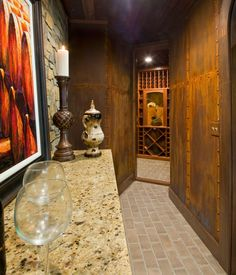 Kessick installed their KED series wine racking in the 2012 Southern Living Showcase Home by Dillard-Jones Builders Southern Living, Wine Rack, Wine Cellars, Painting, Inspiration, Walls, Home Decor, Projects, Room