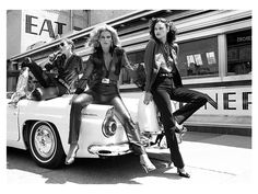 "Capturing a classic American icon, this original pigment print was photographed for Robert Farber's Classic Fashion series at the Empire Diner in Chelsea in 1979. It was part of his work with Bloomingdales, which he explains was more ""like shooting editorial than advertising."" A limited edition of 10, the archival print is signed and numbered."