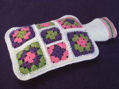 Crochet pattern pdf hot water bottle cover  cosy by Millionbells, $3.99