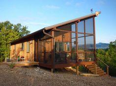 Diseño casa campo de madera