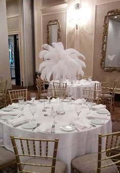 45 best ostrich feather centerpieces images ostrich feather rh pinterest com