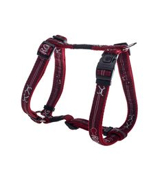 ROGZ FANCY DRESS DOG H-HARNESS - RED HEART. Available from www.nuzzle.co.za