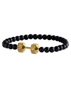GOLD Dumbbell bracelet