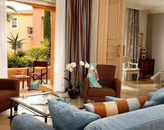 Deluxe 1 Bedrm Suite garden or pool view 70 to 80 SQM /large lounge and bedroom  Hotel Byblos, Saint-Tropez