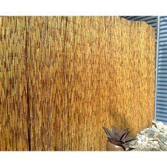 Eden 1 8 X 3m Bamboo Pvc Garden Screen Fencing With