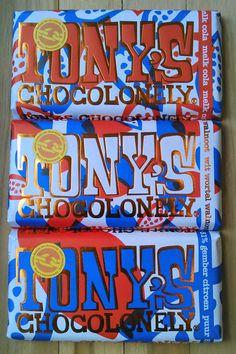 #Tony's Chocolonely limited editions: beetje vreemd, maar wel lekker!