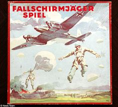 German children played with 'Bombers over England' boardgames during WWII | Daily Mail Online