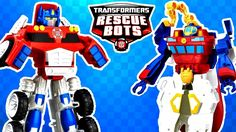 New Transformers Rescue Bots Collection with Optimus Prime and Deep Water Rescue High Tide. If you have Transformers Toys you want to see us open let us know in the comments below!  More Transformers Videos!  Transformers One Step Changers Robots in Disguise Wave 1 2 3 6 Wave 8 NEW Bumblebee and Sideswipe!! - https://youtu.be/tYdaJKo6WGo  Transformers Three Step Changers Robots in Disguise Wave 1 and 6 Bumblebee Drift Thunderhoof Toys - https://youtu.be/5zcjmLO-ZFg  2016 Transformers Robots…
