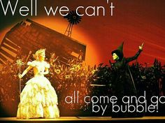 I love this quote! Wicked is officially one of my favorite Broadway shows, besides Phantom of the Opera. Broadway Theatre, Musical Theatre, Broadway Shows, Broadway Wicked, Broadway Quotes, Musicals Broadway, Theatre Quotes, Movie Quotes, Defying Gravity