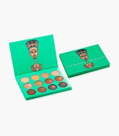 Nubian Palette. Highly pigmented golds, coppers, deep browns and bronze.