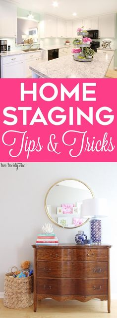 Home staging tips and tricks! Great tips, especially for those with kids! Home staging tips and tricks! Great tips, especially for those with kids! Interior Decorating Tips, Interior Design Tips, Decorating Games, Design Ideas, Home Design, Home Staging Tipps, Home Hacks, Quality Furniture, Furniture Deals