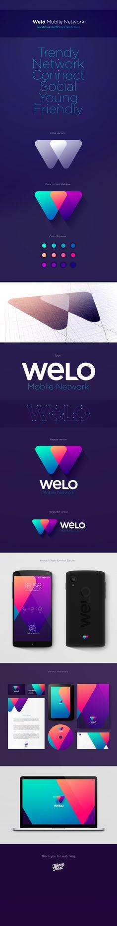 Welo - Corporate identity