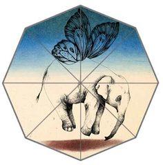 elephant,umbrella