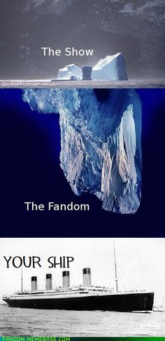 Most accurate post about fandoms.