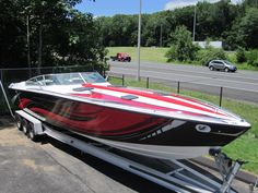 True Automotive Boat Graphic Wrap Done By Sign Pro Inc.