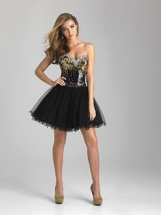 915de6469e6 Night Moves Prom Dress 6630 Tulle