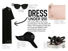 """Dress Under 50$"" by eirini-kastrou on Polyvore"