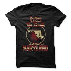 (Top Tshirt Charts) The Brave Get Maryland at Tshirt United States Hoodies, Funny Tee Shirts