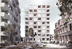Sjöblom Freij Arkitekter Svindersberg Street