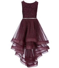 Formal Dresses Amy/'s Closet Big Girls/' Special Occasion Maxi or Hi-Low New NWT