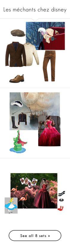 """Les méchants chez disney"" by louisechotard on Polyvore featuring mode, Carhartt, Pepe Jeans London, men's fashion, menswear, moda, Journee Collection, Dsquared2, Derriére e Disney"